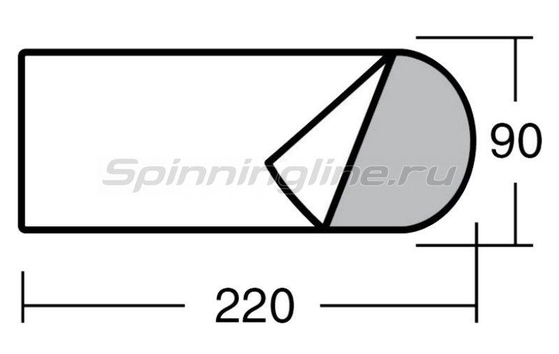 Greenell - Спальный мешок Антрим левый - фотография 3