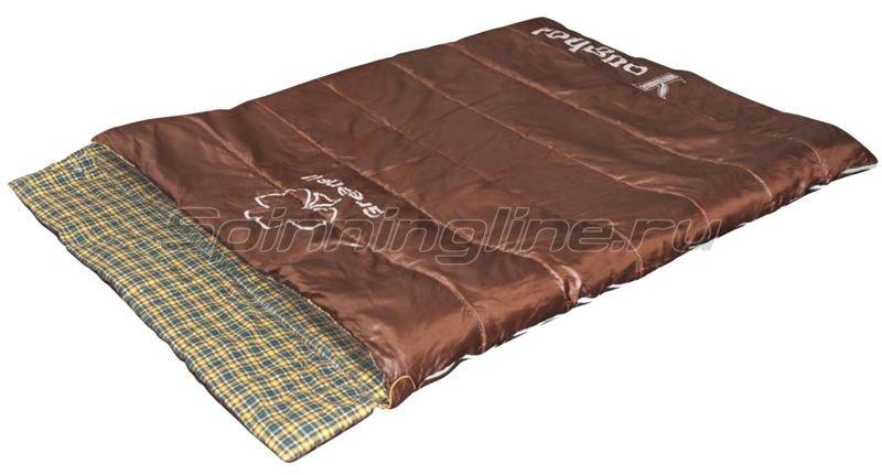 Спальный мешок Йол V2 коричневый -  1