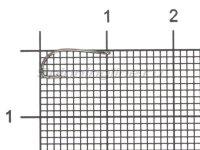 Крючок Reliable Feeder KM-013 BN №12