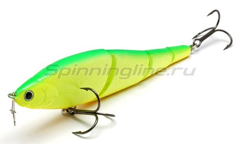Lucky Craft - Воблер Pointer LL 125S Smasher Green Lime Chart 133 - фотография 1