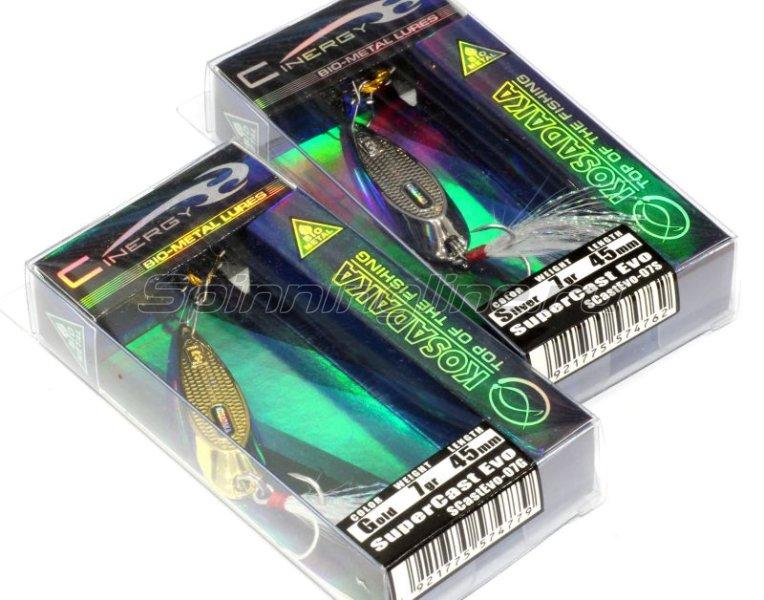 Kosadaka - Блесна SuperCast Evo 7гр Silver - фотография 3