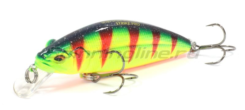 Воблеры strike pro shifty shad shallow 80sl