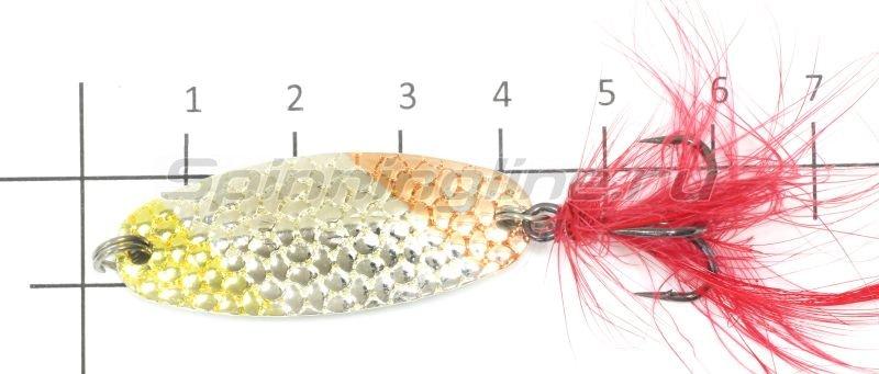 Sprut - Блесна Gurano Spoon 40 GO - фотография 4