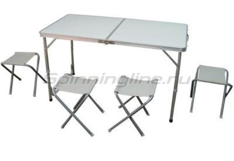 Набор Woodland Picnic Table Set, стол и стулья -  1