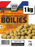 Бойлы Van Daf Classic Сладкая кукуруза 18мм 1кг