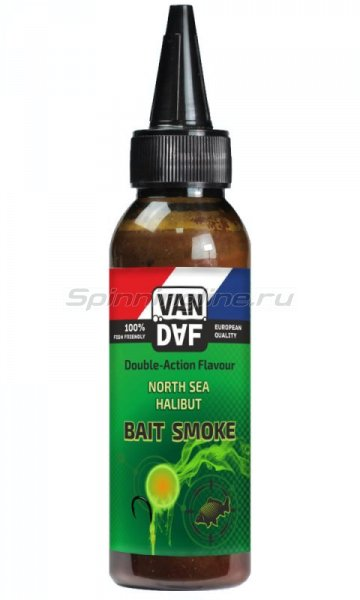 Жидкий дым VAN DAF Baitsmoke North Sea Halibut 100мл - фотография 1