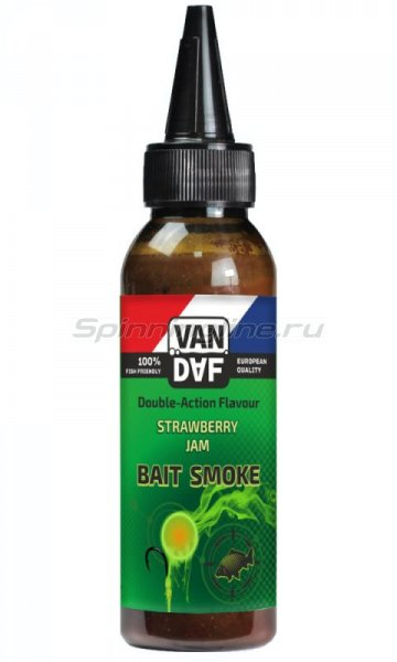 Жидкий дым Van Daf Baitsmoke Strawberry Jam 100мл -  1