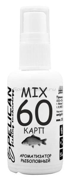 Дип Pelican Mix 60 Карп 50мл - фотография 1