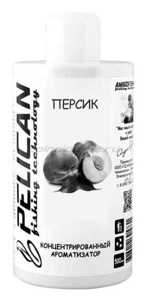 Ароматизатор Pelican Персик 500мл - фотография 1