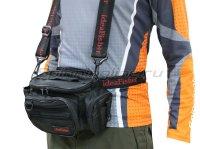 Поясная сумка с держателем удилища Stakan 100 Лайтовик black
