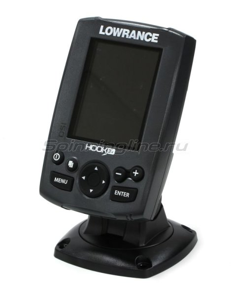 Эхолот Lowrance Hook-3x DSI Fishfinder with 455/800 - фотография 1