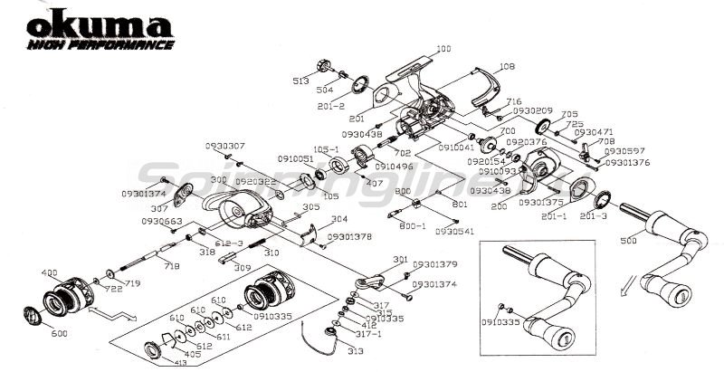 Катушка RTX-25 FD -  6
