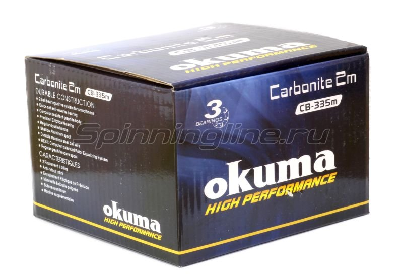 Okuma - Катушка Carbonite II M 35FD CB - фотография 7