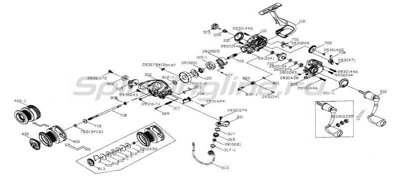 Катушка Inspira 30R -  9
