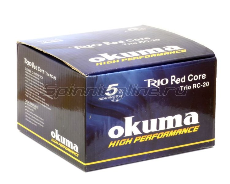 Okuma - Катушка Trio 30 Red Core FD - фотография 7