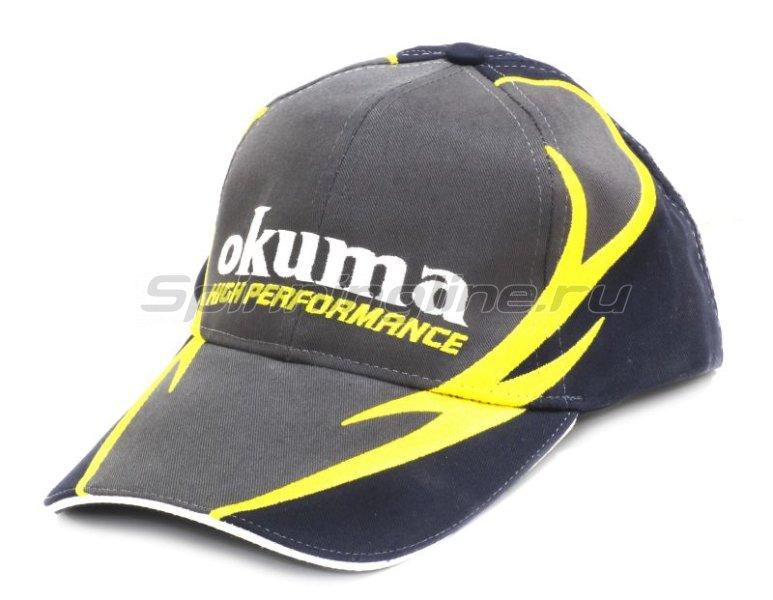 Кепка Okuma Street Cap Grey -  1