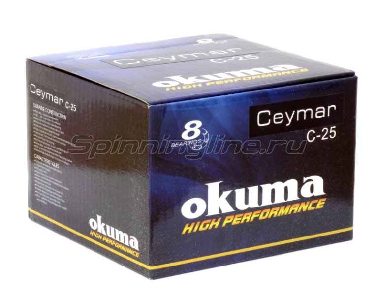 Okuma - Катушка Ceymar C-25 FD - фотография 5