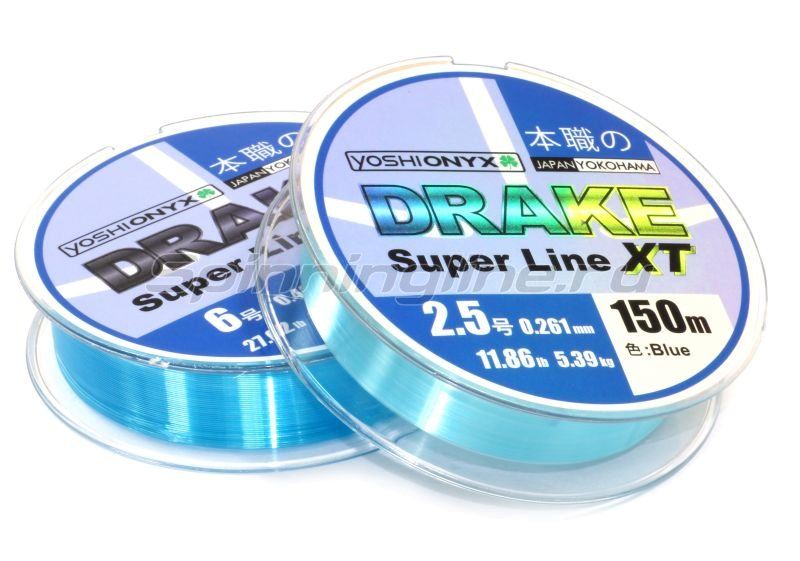Yoshi Onyx - ����� Drake Superline XT 150� 0,261�� Blue - ���������� 1