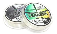 Поводковый материал Yoshi Onyx Fluorocarbon Leader 50м 0.23мм Natural