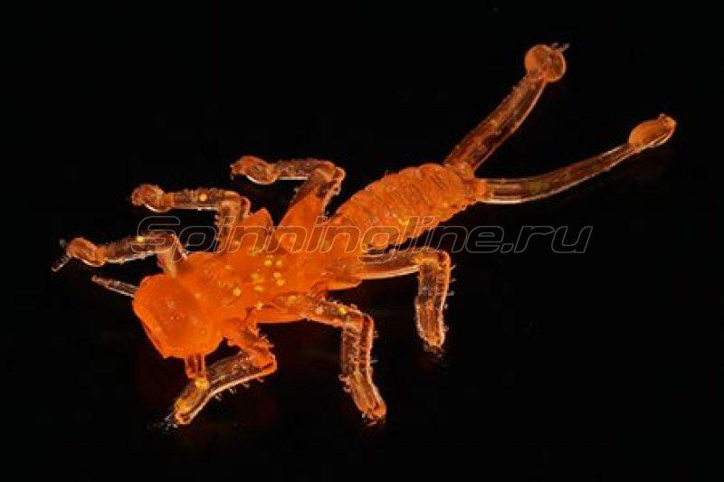MicroKiller - Приманка Веснянка оранжевый флюо - фотография 1