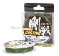 Шнур Gosen W 8 Braid Casting 150м 1.0 Moss Green