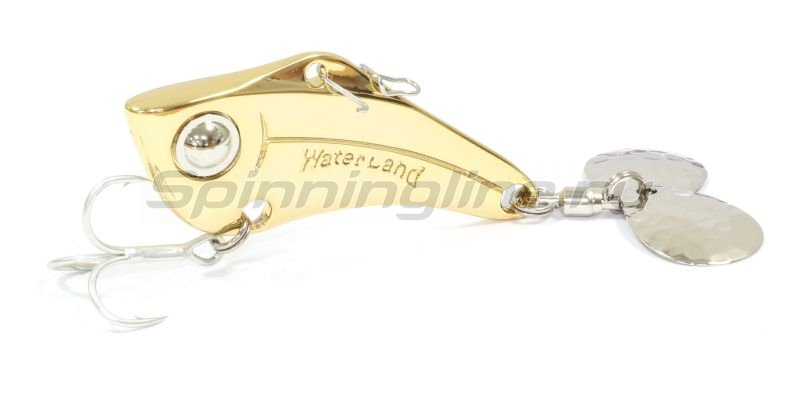 Waterland - Тейлспиннер Spin Sonic 14гр Gold - фотография 1