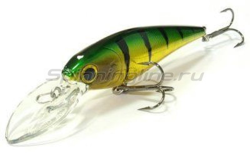 Lucky Craft - Воблер Bevy Shad 75SP Aurora Green Perch 280 - фотография 1