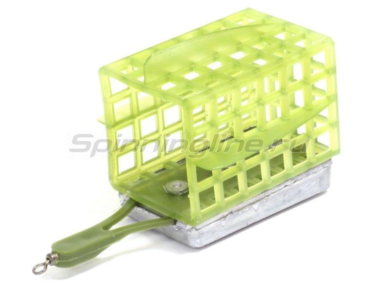 Кормушка Лиман 80гр, квадратная (дно+стабилизаторы) -  1