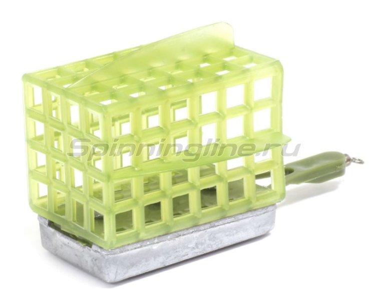 Кормушка Лиман 140гр, квадратная (дно+стабилизаторы) -  3