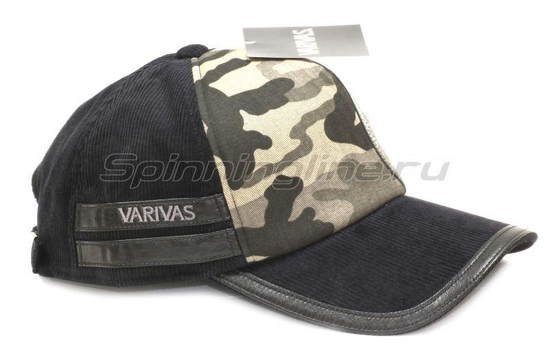 Кепка Varivas Corduroy Cap Black -  3