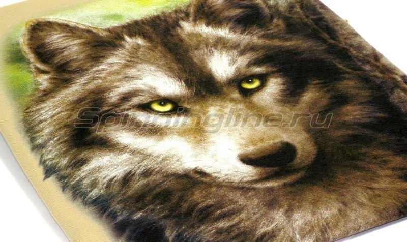 """Футболка с рисунком """"Волк"""" M -  2"""
