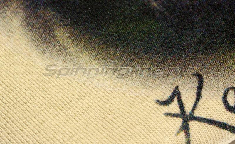 """Футболка с рисунком """"Волк"""" M -  3"""