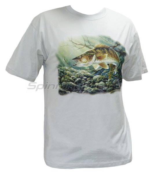 "Мир футболок - Футболка с рисунком ""Судак"" XL - фотография 1"