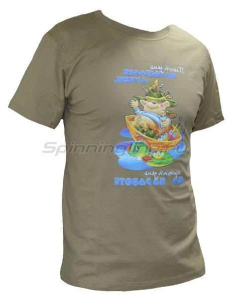 """Мир футболок - Футболка с рисунком """"Плохой день"""" M - фотография 1"""