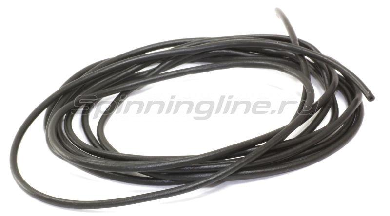 Трубка силиконовая Три Кита d.0,8-1,5 черная 1,5м -  1