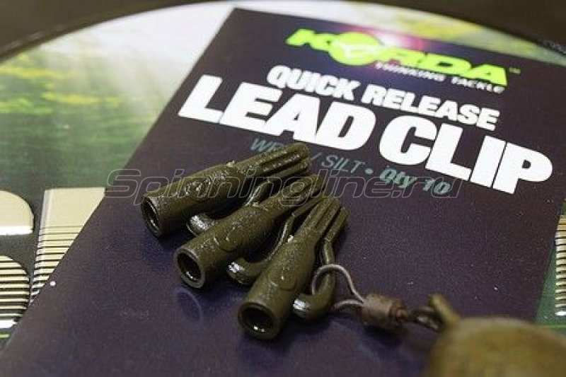 ������ ���������� Korda Quick Release Clip Weed-Silt - ���������� 1