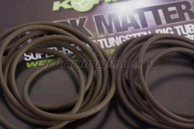 Трубка для монтажа Korda Dark Matter Tungsten Tubing Weed 2м -  1