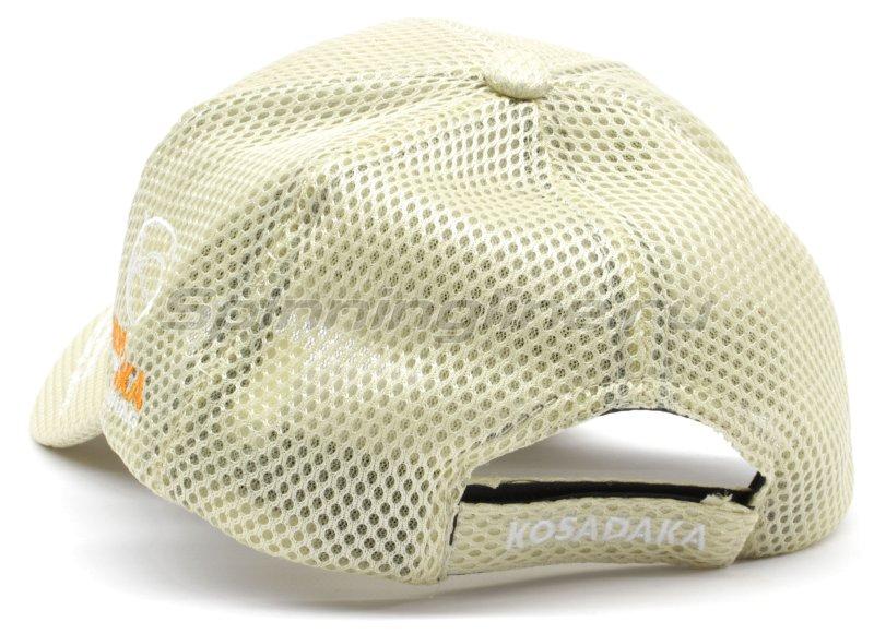Кепка Kosadaka Smart Tackle сетчатая бежевая -  3