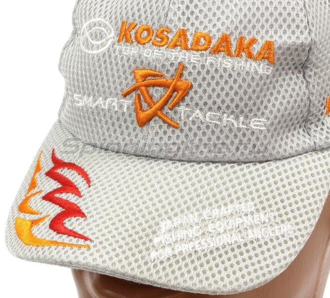 Кепка Kosadaka Smart Tackle сетчатая серая -  3