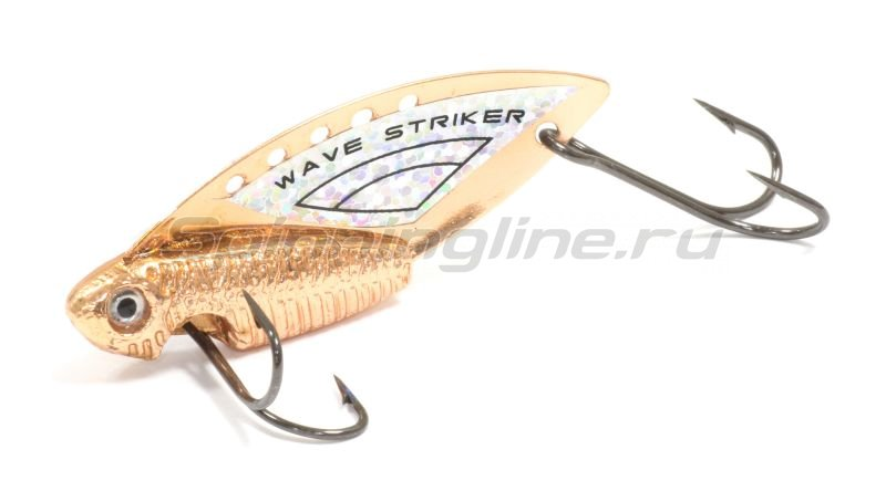 Kosadaka - Блесна Wave Striker 14гр Copper/Silver - фотография 1
