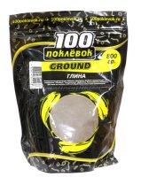 Глина 100 поклевок Ground 800гр