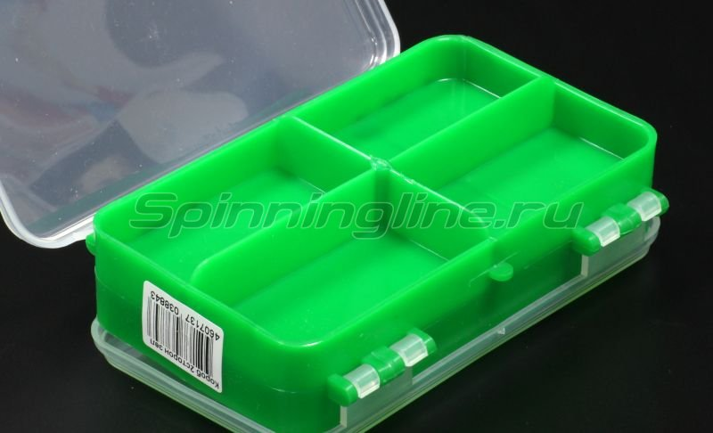 Тонар - Коробка для оснастки двухсторонняя зеленая - фотография 3