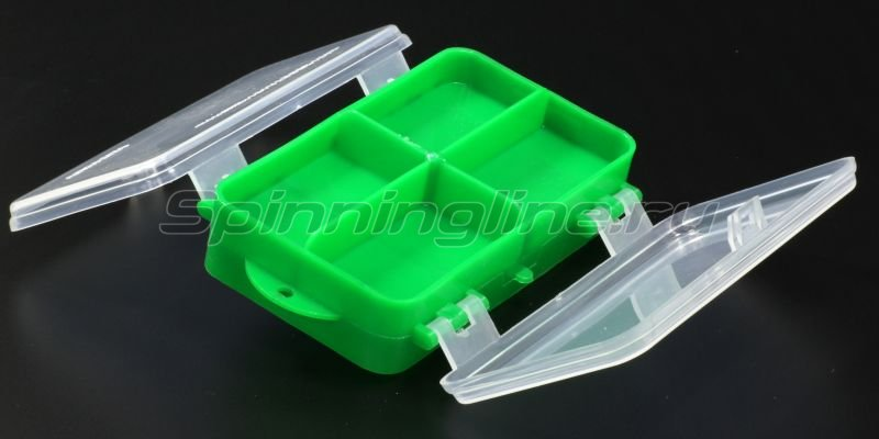 Тонар - Коробка для оснастки двухсторонняя зеленая - фотография 4