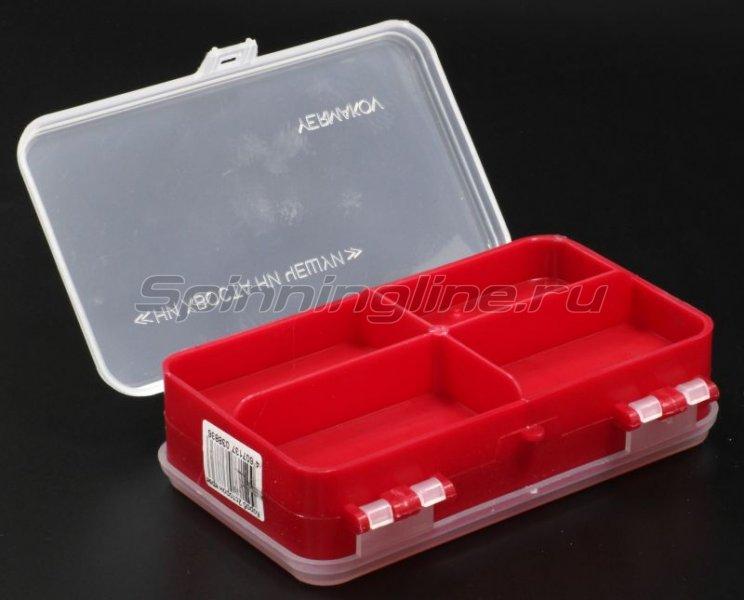 Тонар - Коробка для оснастки двухсторонняя красная - фотография 2