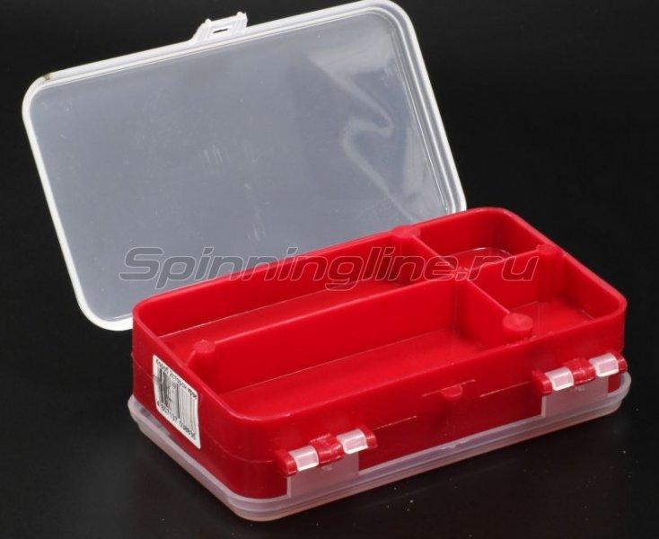 Тонар - Коробка для оснастки двухсторонняя красная - фотография 3