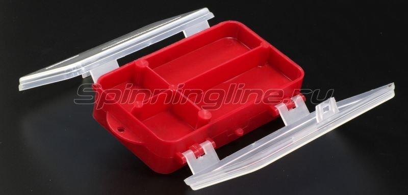 Тонар - Коробка для оснастки двухсторонняя красная - фотография 4