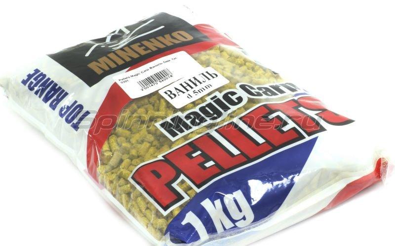 Пеллетс прикормочный Pellets Magic Carp Ваниль 5мм. -  1