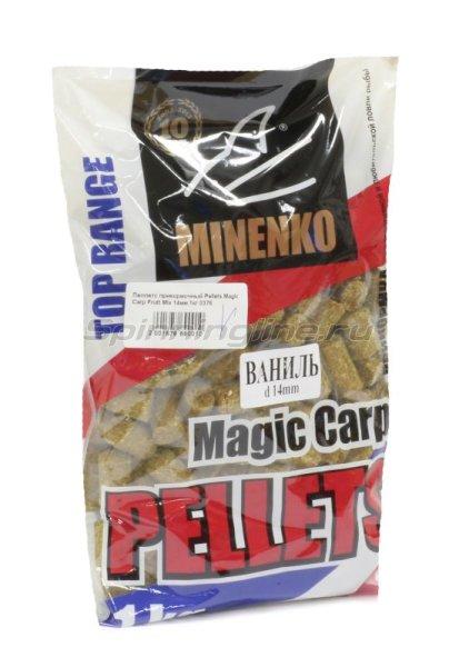 Minenko - Пеллетс прикормочный Pellets Magic Carp Ваниль 10мм. - фотография 1