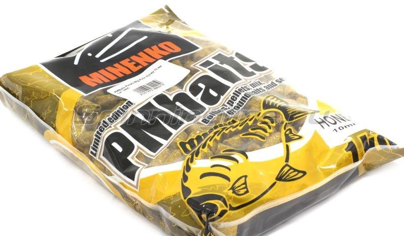 Minenko - Пеллетс прикормочный PMBaits Pellets Big Pack Honey 10 мм. - фотография 1