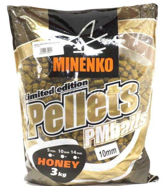 Minenko - Пеллетс прикормочный PMBaits Pellets Big Pack Honey 10 мм. 1310 - фотография 1